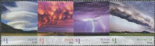 AUS SG4899-902 Cloudscapes set of 4